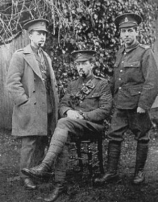 Three Spencer brothers in uniform